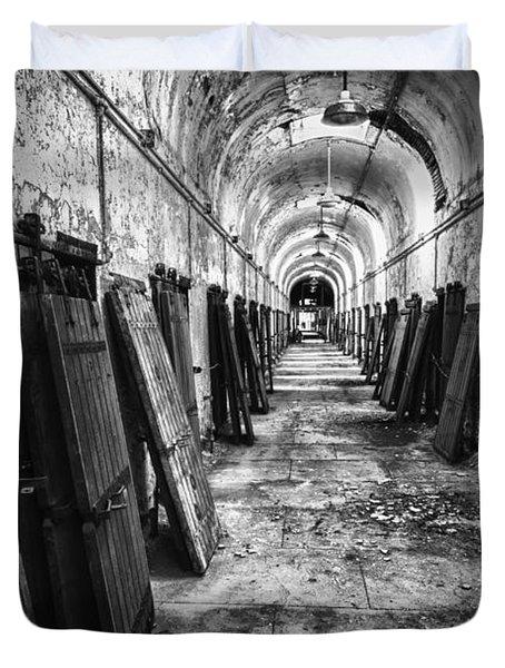 Hall Of Doors Duvet Cover