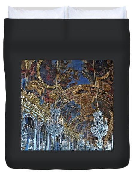 Hall Of Mirrors - Versaille Duvet Cover
