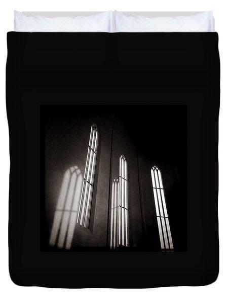 Hallgrimskirkja Windows Duvet Cover
