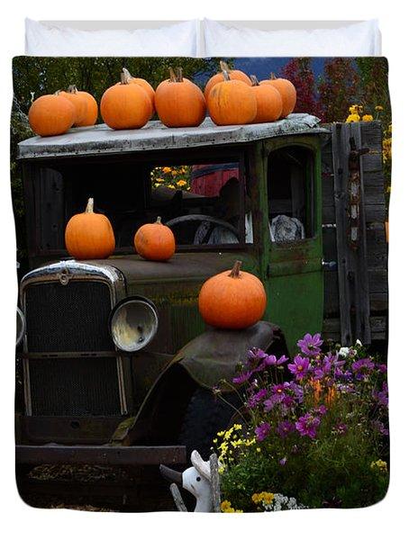 Halloween 1 Duvet Cover by Bob Christopher