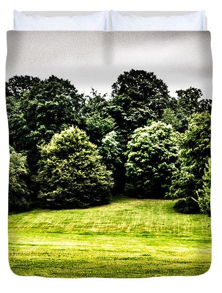 Hampstead Heath Greens Duvet Cover