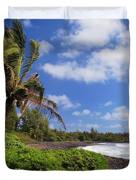 Hana Beach Duvet Cover by Inge Johnsson
