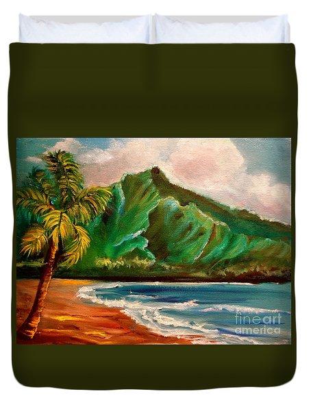 Hanalei Bay Duvet Cover