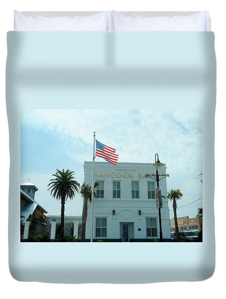 Bay Saint Louis - Mississippi Duvet Cover