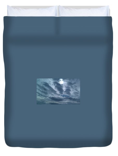 Hand Of God Duvet Cover
