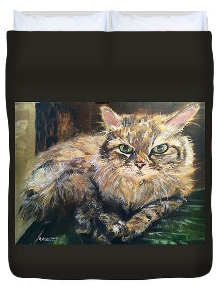 Handsome Toby Duvet Cover