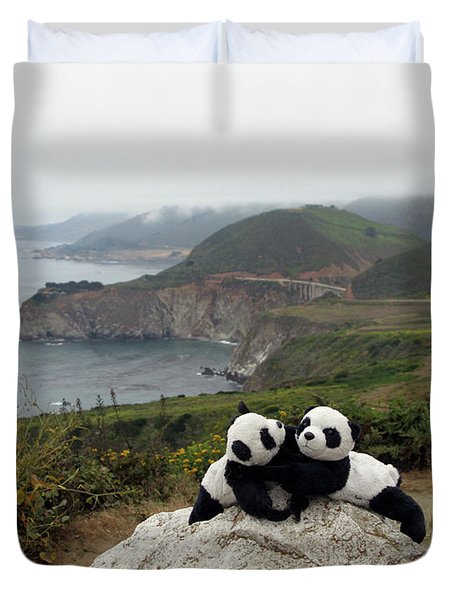 Duvet Cover featuring the photograph Hang On- You Got A Friend by Ausra Huntington nee Paulauskaite
