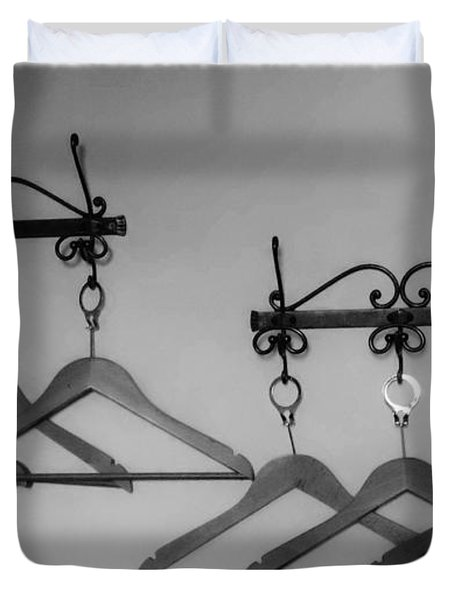 Hangers Duvet Cover by Dany Lison