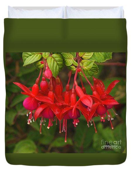 Hanging Fuchsia Duvet Cover