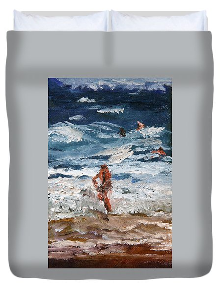 Hanging Ten Duvet Cover