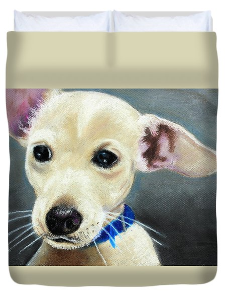 Hank Duvet Cover by Jeanne Fischer