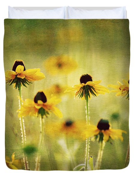 Happiness Duvet Cover by Joan McCool