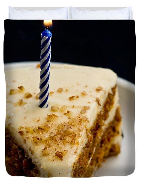 Happy Birthday Duvet Cover by Edward Fielding
