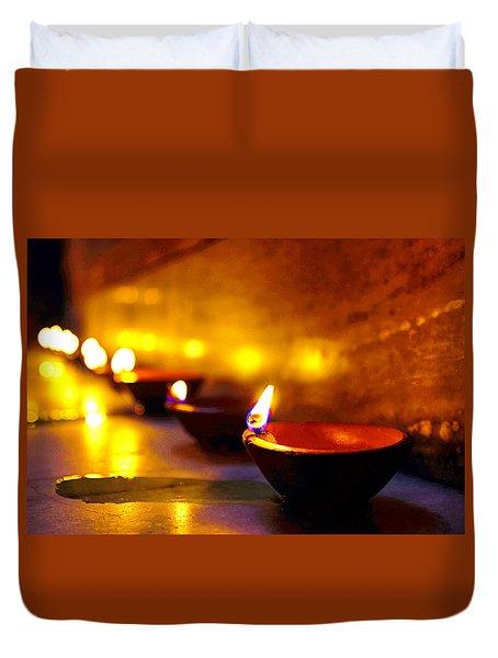 Happy Diwali Duvet Cover