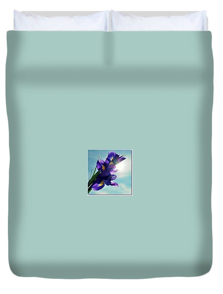 Duvet Cover featuring the photograph Happy Easter  by Marija Djedovic