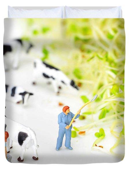 Happy Farm II Little People On Food Duvet Cover