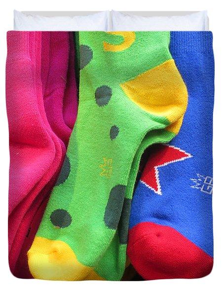 Wear Loud Socks Duvet Cover