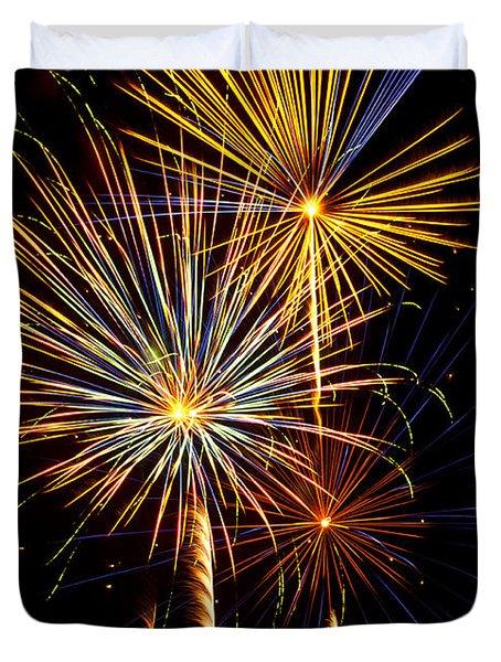Happy Fourth Of July   Duvet Cover by Saija  Lehtonen