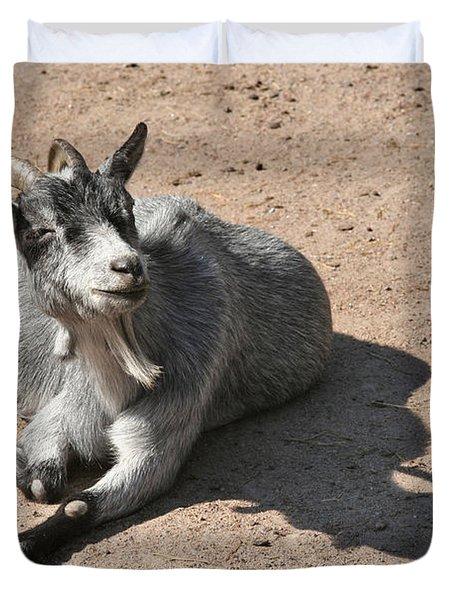 Happy Goat Duvet Cover