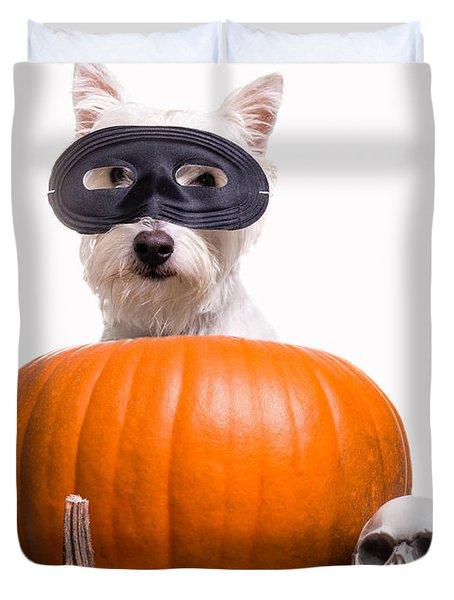 Happy Halloween Duvet Cover by Edward Fielding