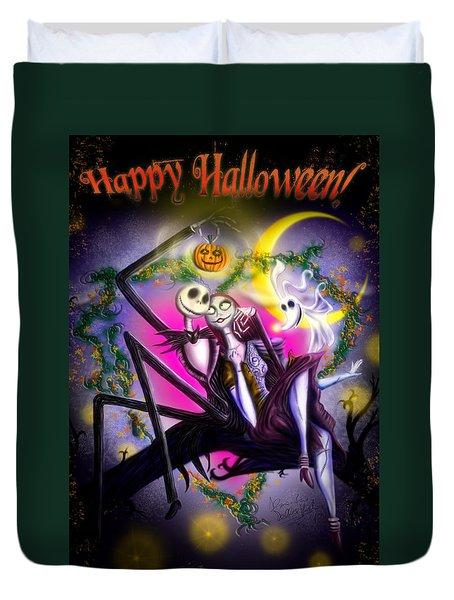 Happy Halloween II Duvet Cover