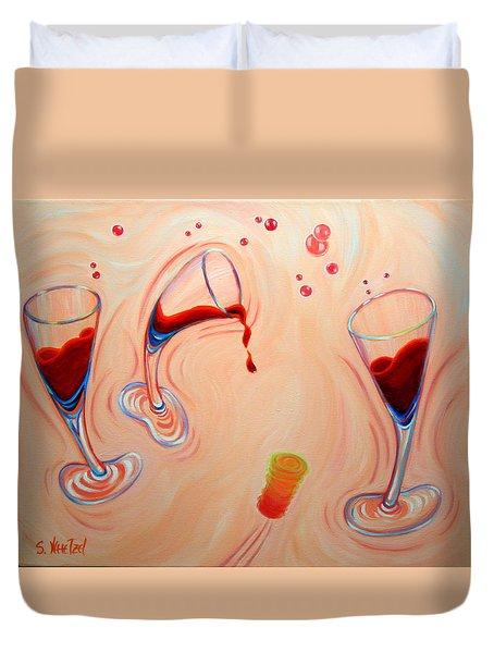 Happy Hour Duvet Cover