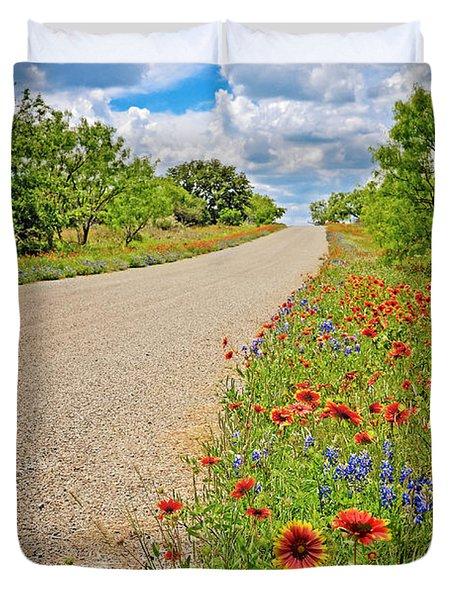 Happy Road Duvet Cover