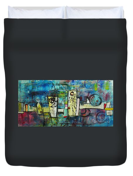 Happy Time Duvet Cover