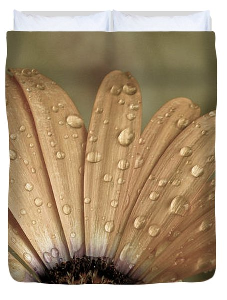 Happy To Be A Raindrop Duvet Cover