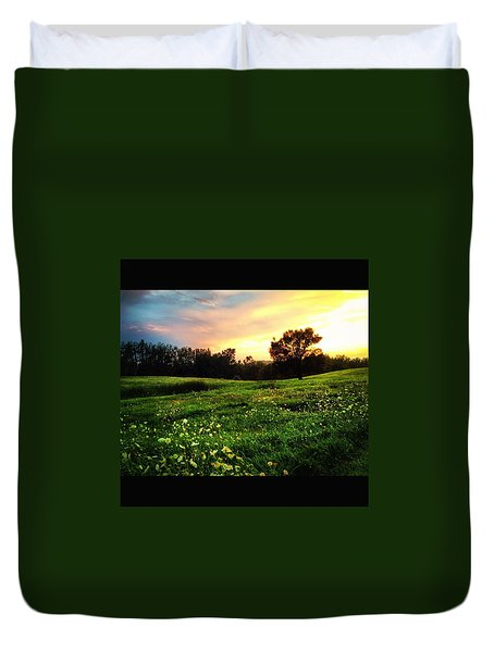 Happy Valley Duvet Cover