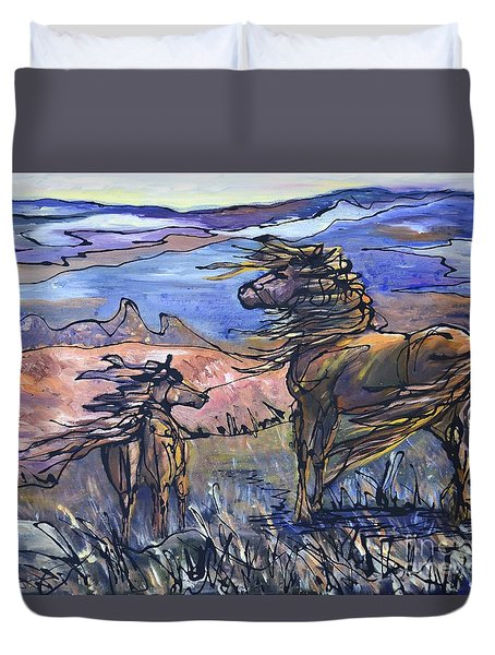 Harbinger Duvet Cover