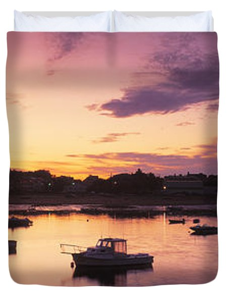 Harbor Cape Cod Ma Duvet Cover