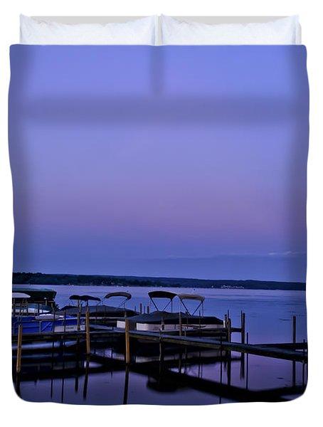 Harbor Night Duvet Cover