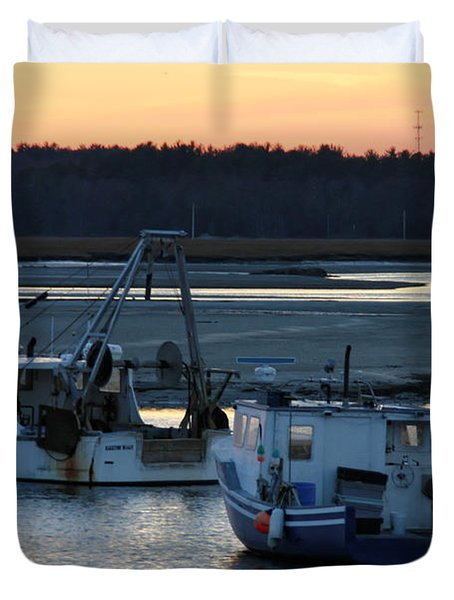 Harbor Nights Duvet Cover