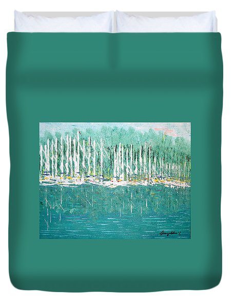 Harbor Shores Duvet Cover