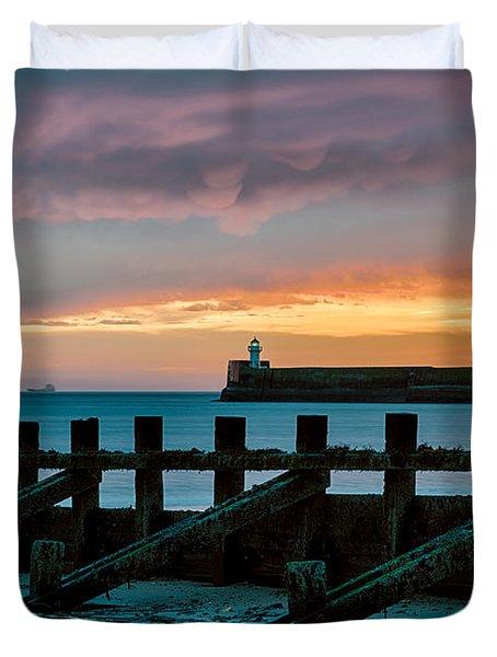 Harbour Sunrise Duvet Cover