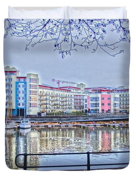 Harbourside Flats Duvet Cover