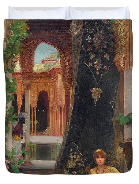Harem Women Duvet Cover