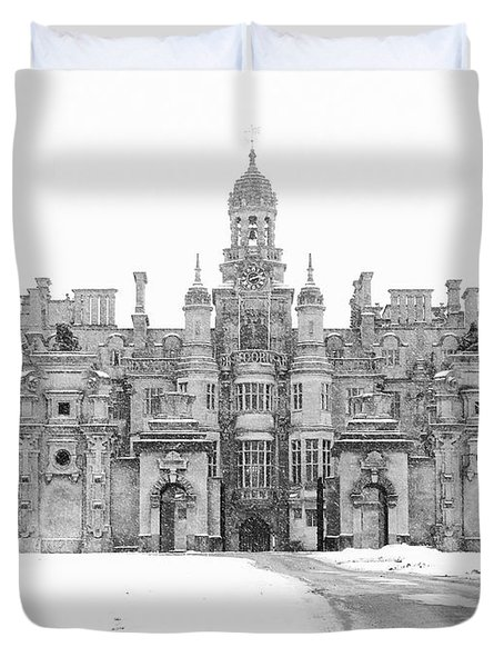 Harlaxton Manor Duvet Cover