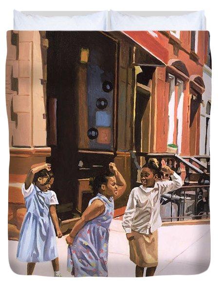 Harlem Jig Duvet Cover by Colin Bootman