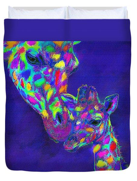 Harlequin Giraffes Duvet Cover