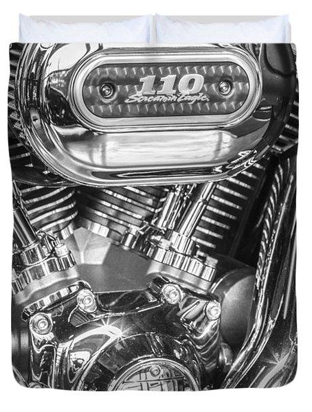 Harley Davidson 110 Duvet Cover