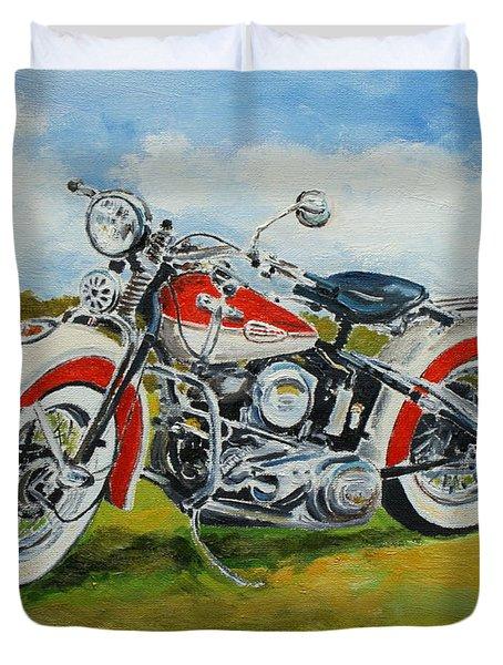 Harley Davidson 1943 Duvet Cover
