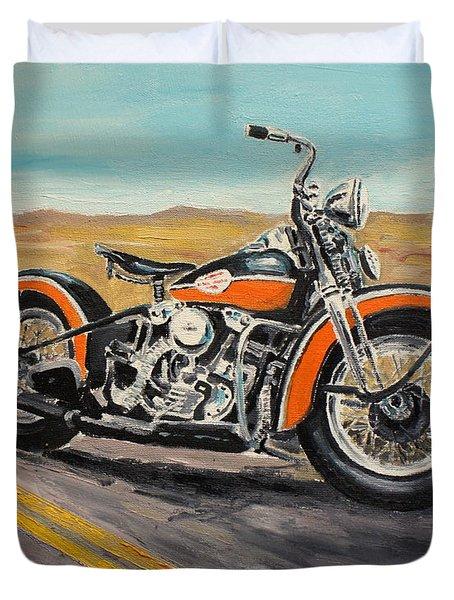 Harley Davidson 1946 Duvet Cover