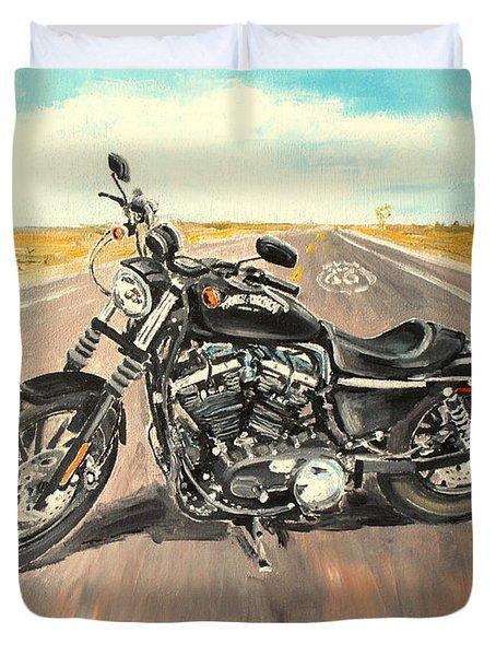 Harley Davidson 883 Sportster Duvet Cover