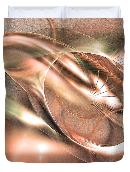 Harmony Of Thebes -abstract Art Duvet Cover