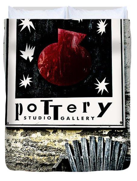 Harmony Pottery Duvet Cover