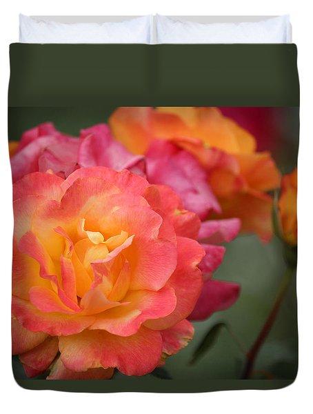 Duvet Cover featuring the photograph Harmony by Rowana Ray