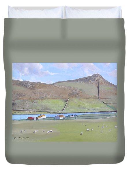 Haroldswick Shetland Islands Duvet Cover