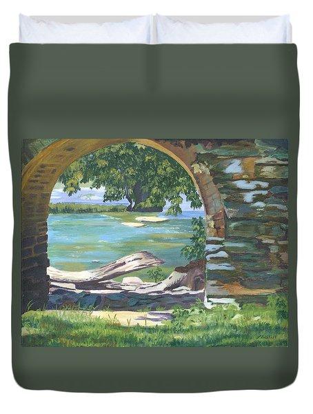 Harper's Arch Duvet Cover by Lynne Reichhart